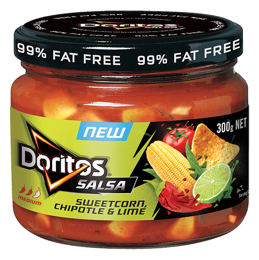 DORITOS® Sweetcorn Chipotle Lime flavoured  Salsa
